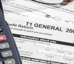 how to do tax return canada ontario